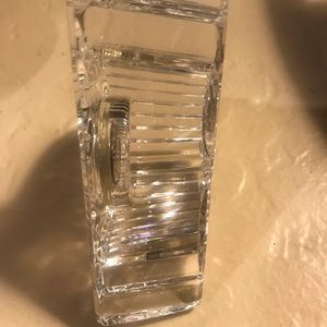 Waterford Crystal Accents - Waterford crystal desk clock